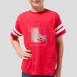 woman-heartDisease Youth Football Shirt
