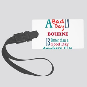 Bourne Luggage Tag