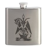 Baphomet Flask Bottles