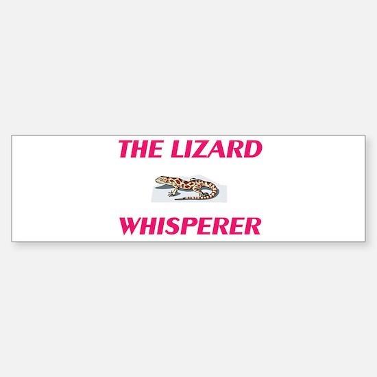 The Lizard Whisperer Bumper Bumper Bumper Sticker