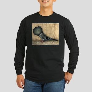 German Cropper Pigeon Long Sleeve T-Shirt