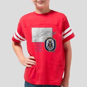 3-uss bataan Youth Football Shirt