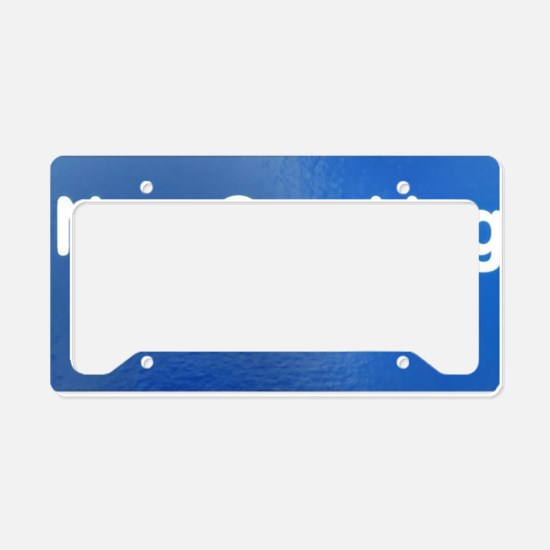 Non Smoking Area License Plate Holder