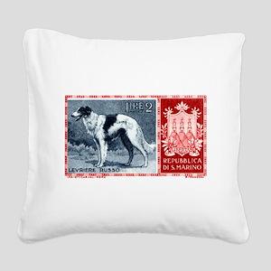 Vintage 1956 San Marino Borzoi Dog Postage Stamp S