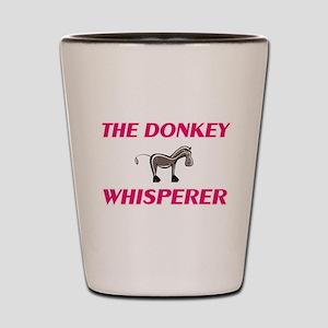 The Donkey Whisperer Shot Glass