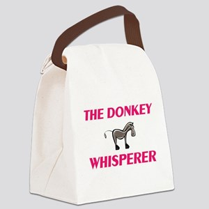 The Donkey Whisperer Canvas Lunch Bag