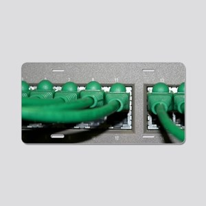 Router Aluminum License Plate