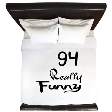 94 Really Funny Birthday Designs King Duvet