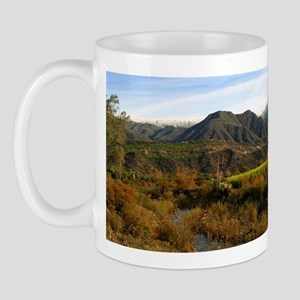 Ojai Valley With Snow Mug