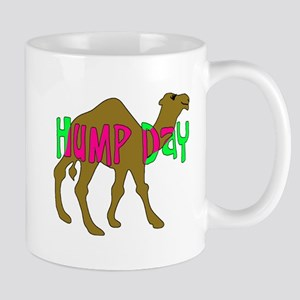 HUMP DAY with Camel Funny Wednesday Tshirt Mug