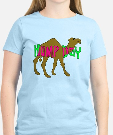 HUMP DAY with Camel Funny Wednesday Tshirt T-Shirt