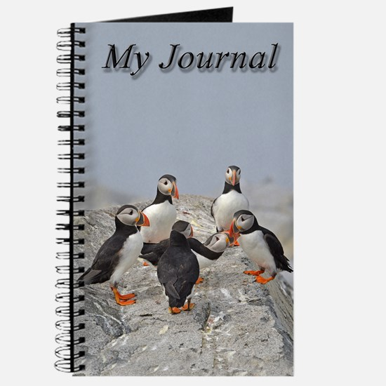 Circle of puffins Journal