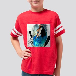 CAFEPRESSblue Youth Football Shirt