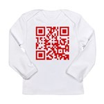 Dude my eyes are up here! Long Sleeve T-Shirt