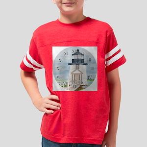 #18 CLOCK_R copy Youth Football Shirt