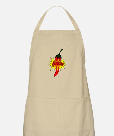 Pepper with text mexican graphic Apron