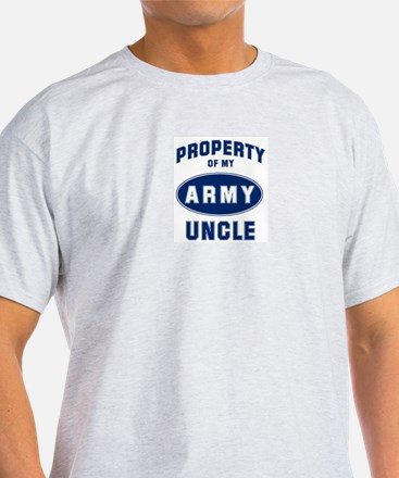 Property of my Uncle Ash Grey T-Shirt