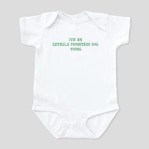 Estrela Mountain Dog thing Infant Bodysuit