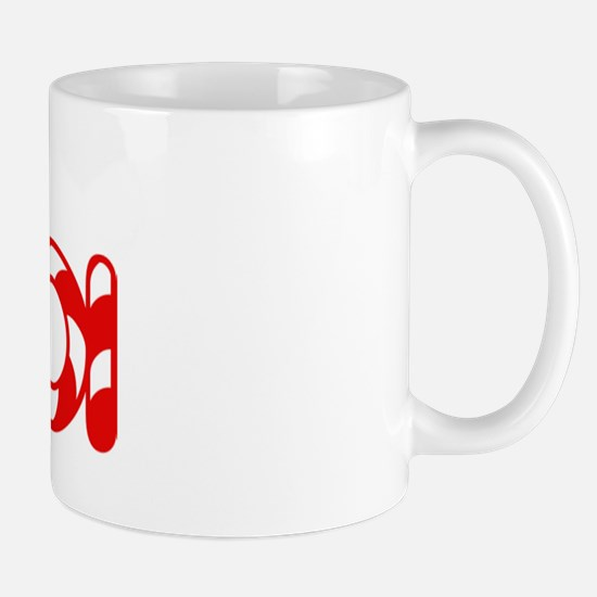 Mia - Candy Cane Mug