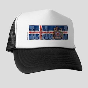 Silky Flag of Iceland Trucker Hat