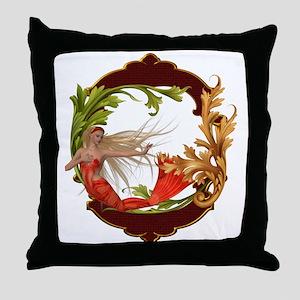 Best Seller Merrow Mermaid Throw Pillow