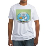 Fishbowl Relationships Fitted T-Shirt