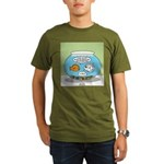 Fishbowl Relationships Organic Men's T-Shirt (dark
