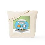 Fishbowl Relationships Tote Bag