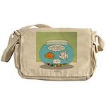 Fishbowl Relationships Messenger Bag
