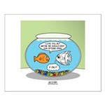 Fishbowl Relationships Small Poster