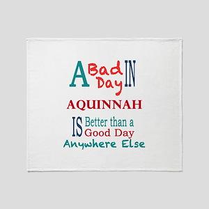 Aquinnah Throw Blanket