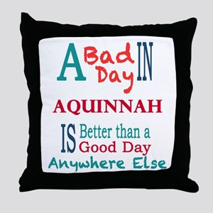Aquinnah Throw Pillow