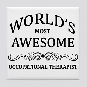 World's Most Awesome Occupational Therapist Tile C