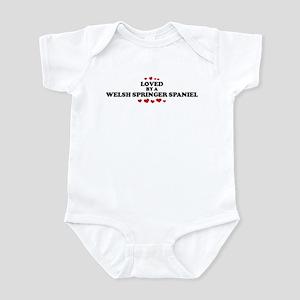 Loved: Welsh Springer Spaniel Infant Bodysuit