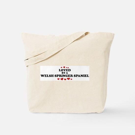 Loved: Welsh Springer Spaniel Tote Bag
