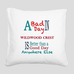 Wildwood Crest Square Canvas Pillow