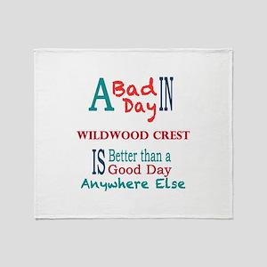 Wildwood Crest Throw Blanket