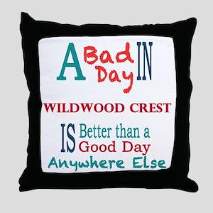 Wildwood Crest Throw Pillow