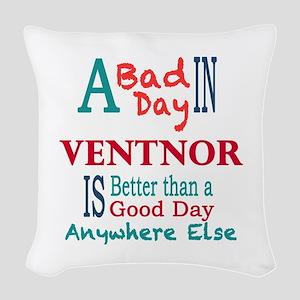 Ventor Woven Throw Pillow