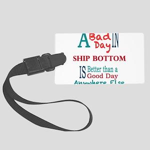 Ship Bottom Luggage Tag