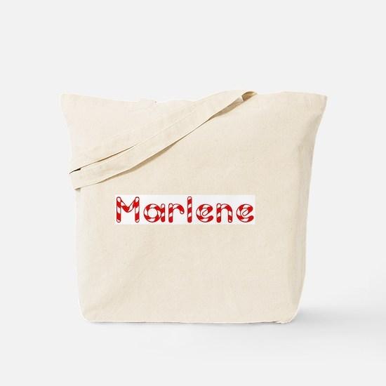 Marlene - Candy Cane Tote Bag