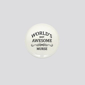 World's Most Awesome Murse Mini Button