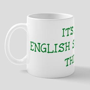 English Shepherd thing Mug