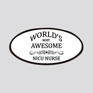 World's Most Awesome NICU Nurse Patches