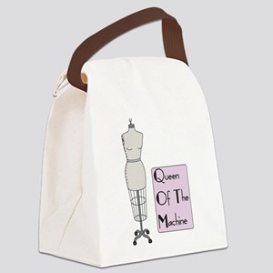 Queen Of The Machine Canvas Lunch Bag