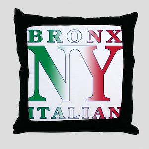 Bronx New York Italian Throw Pillow