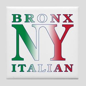 Bronx New York Italian Tile Coaster