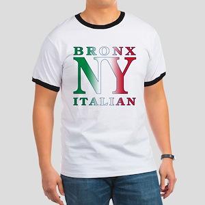 Bronx New York Italian Ringer T