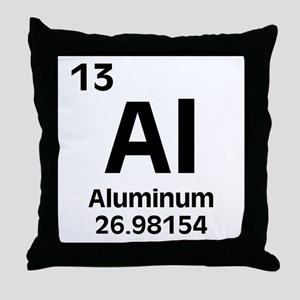 Aluminum Throw Pillow