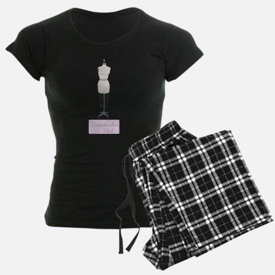 Dressmaker At Work Pajamas